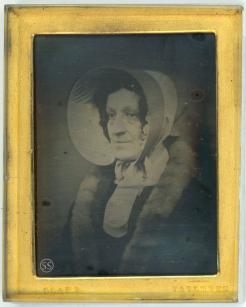 Richard Beard Patentee Maria Edgeworth Daguerreotype for Sale