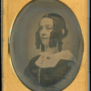 Richard Beard Patentee oval mat lady daguerreotype for sale