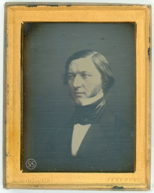 Beard Patentee Englsih John Ruskin Look a Like Daguerreotype for Sale