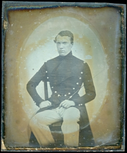 Alfort French Vet Daguerreotype Before Restoration