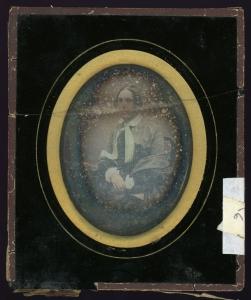 Samuel Heer Daguerreotype Before Restoration