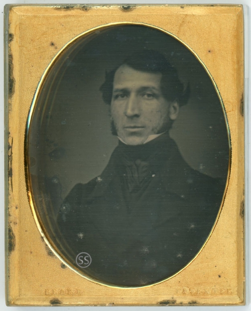 1842 Oval Richard Beard Patentee Daguerreotype