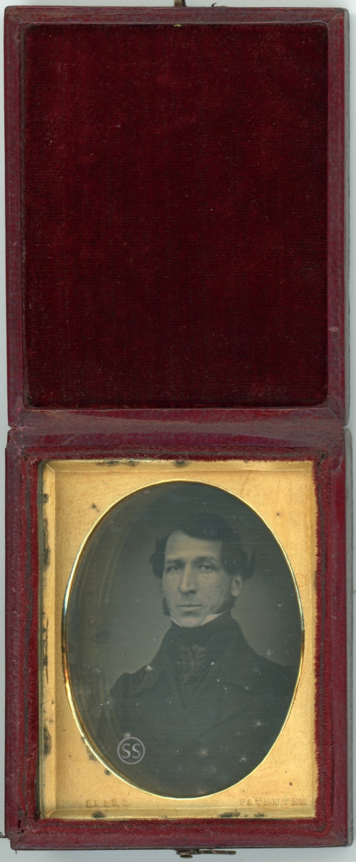 Oval Beard Patentee Daguerreotype For Sale