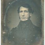 1842 Oval Richard Beard Patentee Daguerreotype For Sale