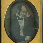 Contemplative man daguerreotype for sale by beard