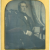Large 6th Plate Size Beard Patentee Japanned Frame Daguerreotype
