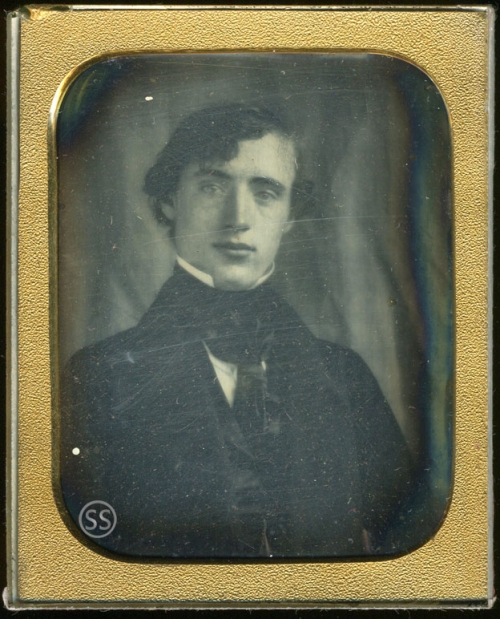 Young University Man Attrib Thomas Davidson of Edinburgh Daguerreotype