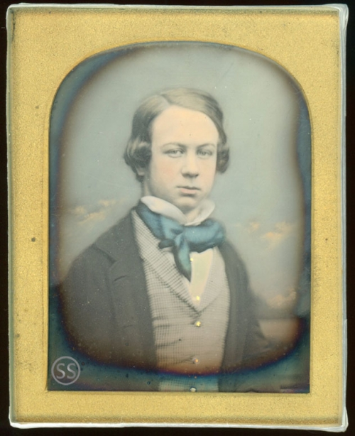 Young Tinted Teen By Jabez Mayall Daguerreotype for Sale