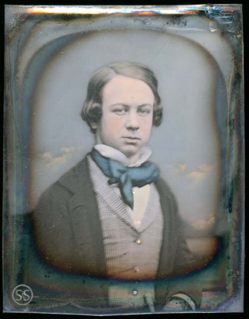Young Tinted Teen Daguerreotype By Jabez Mayall