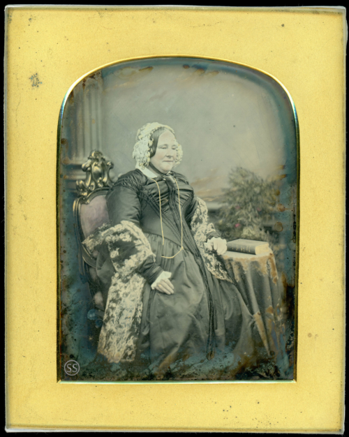 Large Tinted Daguerreotype By Jabez Mayall