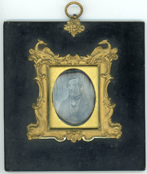 Richard Beard Japanned Frame Daguerreotype