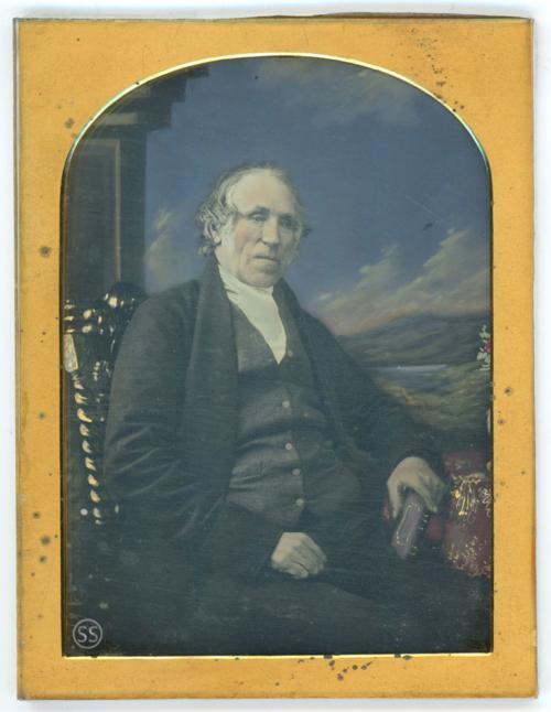 Tinted Sarony Daguerreotype