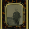 Early Sport Cricket Ambrotype For Sale