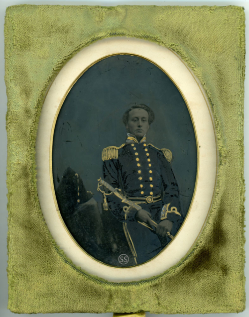 Navy Officer Ambrotype For Sale