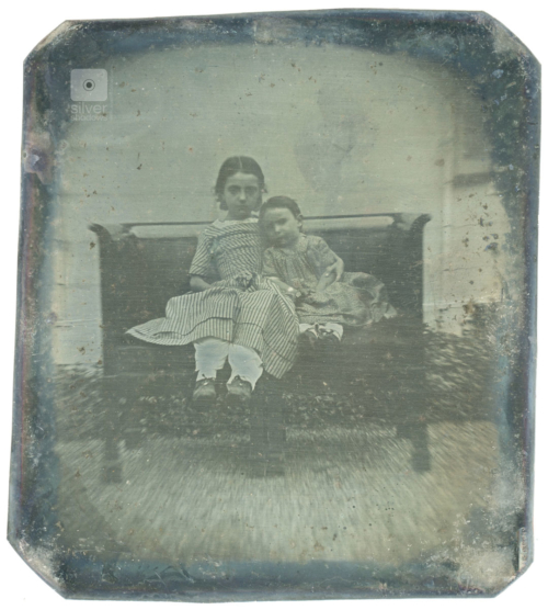 Early Outdoor Daguerreotype