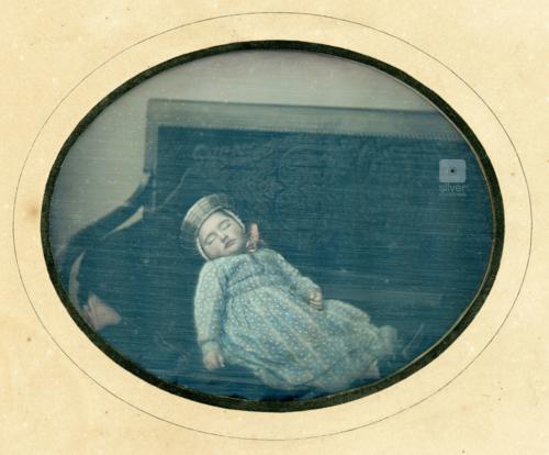 Post Mortem Daguerreotype