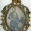 Handsome man daguerreotype