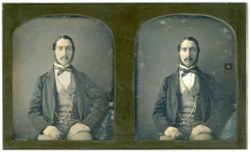 Stereoscopic daguerreotype