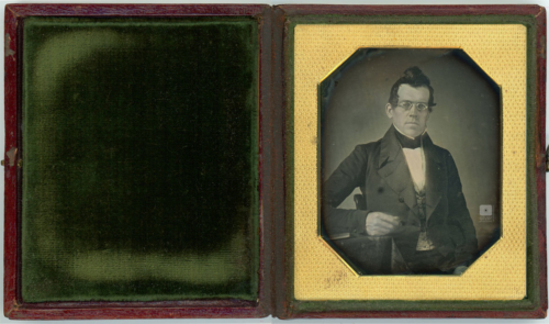 Scientist Daguerreotype