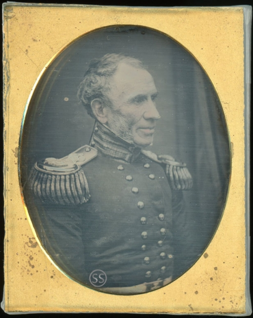 British Military Colonel Joseph Kelsall 70th Foot Daguerreotype For Sale