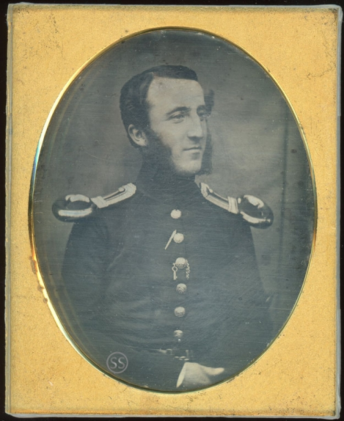 British Army Line Infantry Officer Daguerreotype for Sale