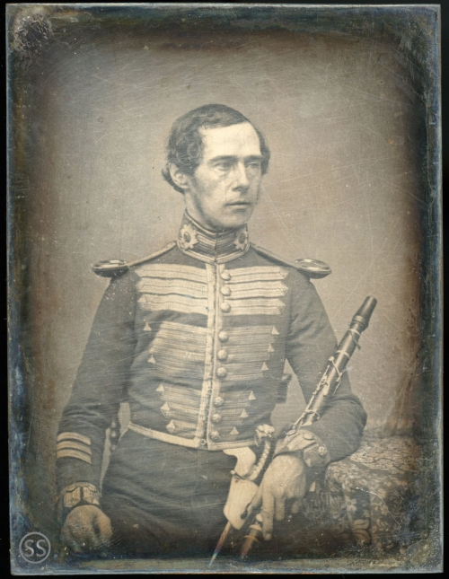Coldstream Guard Band Military Officer Daguerreotype for sale