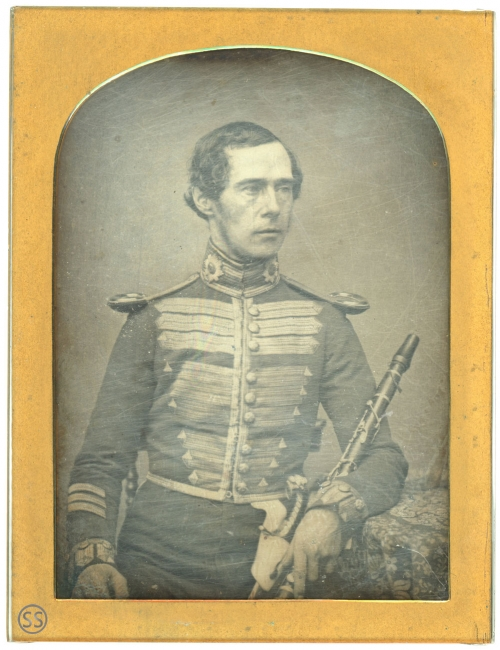 Coldstream Guard Band Military Officer Daguerreotype
