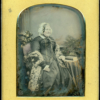 Large Tinted Daguerreotype By Jabez Mayall
