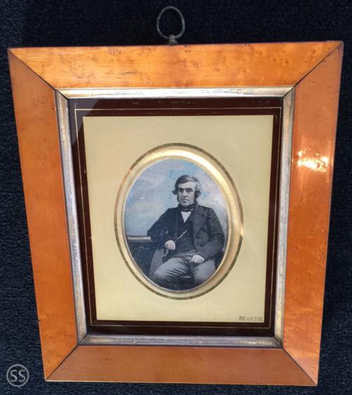 Large Tinted British Daguerreotype By John Beattie